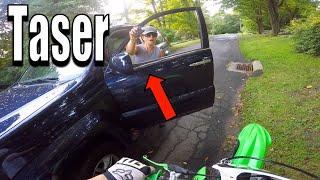 Angry People Vs Dirt Bike