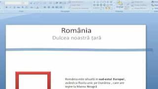 Cum sa faci un proiect in PowerPoint