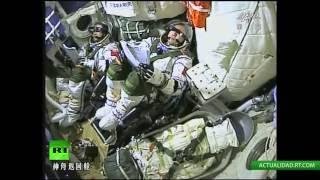 EN VIVO: China lanza su primera misión tripulada a la estación espacial Tiangong 2