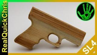 how to build a wooden handgun