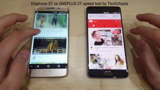 OnePlus 3T vs Elephone S7 Speed test/Gaming/Comparison(Snapdragon 821 vs Helio X20)Video/2017