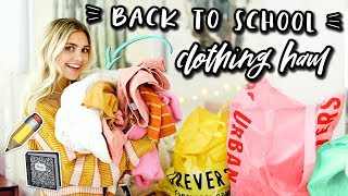 Back to School Try On Clothing Haul! All Under $50!   Aspyn Ovard