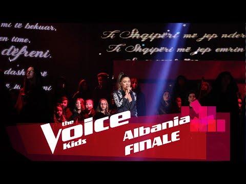 Xxx Mp4 Elvana Gjata Ti Shqipëri Më Jep Nder Më Fal Xheloz Finale The Voice Kids Albania 2018 3gp Sex
