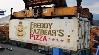 Five Nights at Freddy's The Movie?! | Freddy Fazbear's Shipping Containers!