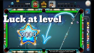 8 Ball Pool   Luck At level 3000 - Top 20 Lucky Shots of 2018
