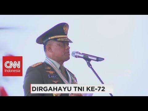 Full Pidato Panglima TNI Gatot Nurmantyo di HUT ke-72 TNI