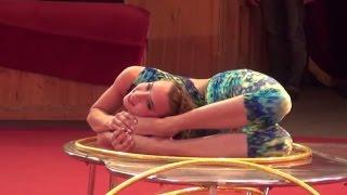 contortion hula hoop