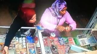 بالفيديو : شاهد كيف سرقت سيدتين محل بقالة بمدينة فاس !!
