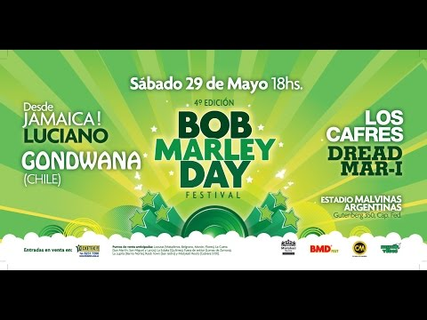 Tour Bob Marley Day Argentina Año 2010