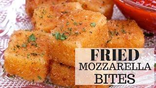 Fried Mozzarella Sticks (Bites)