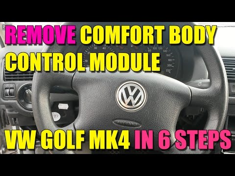 Xxx Mp4 How To Remove Change The Comfort Body Control Module CCM On VW Golf Mk4 Bora Jetta In 6 Steps 3gp Sex