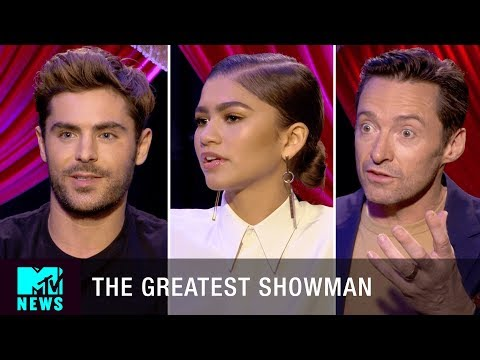 Zendaya is 'The Queen Of All Things' w Zac Efron In 'The Greatest Showman' | MTV News
