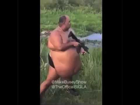 Xxx Mp4 SMH This Man Can Hide An Assault Riffle Under His Stomach 3gp Sex