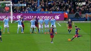 ملخص مبارة برشلونة و سيلتا فيغو 6-1 الدوري الإسباني 14-2-2016