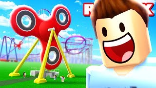 FIDGET SPINNER WORLD IN ROBLOX
