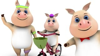 This Little Piggy | Kids Song | Preschool Nursery Rhymes & Baby Songs Collection by Little Treehouse