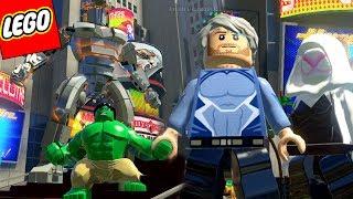 LEGO Marvel Super Heroes #67 - DESTRUIDOR GIGANTE VS HULK E MERCÚRIO/SPIDER-GWEN!!