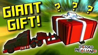 BATTLE TOASTER, MAZE GENERATOR, MYSTERY GIFT! [Your Best Builds 5] - Scrap Mechanic Gameplay