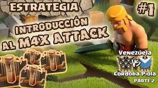 ¡Introducción al M4X ATTACK! | ESTRATEGIA de Ataques Híbridos | Venezuela vs Córdoba Piola PARTE 2