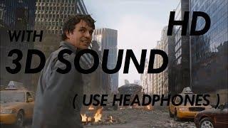 (3D SOUND) The Avengers - Hulk