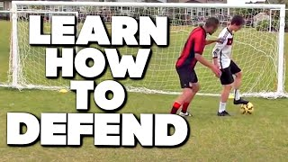 Soccer Defending Mastery - How To Defend In Soccer