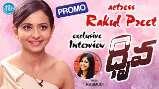 Rakul Preet Singh Exclusive Interview - Promo || #Dhruva || Talking Movies With iDream