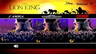 Lion King | Mega Drive, SNES & Amiga | Comparison - Triple Longplay