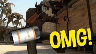 CS:GO SILVER FUNNY MOMENTS - THE LUCKIEST SMOKE EVER, AUTO PICK UP NOOB & MORE