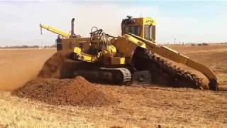 Monster Machines in Action - Stone Cutters, Disc and Chain Trenchers