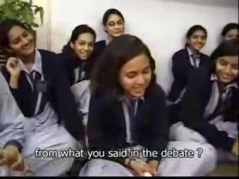 Pakistani girls about India.mp4