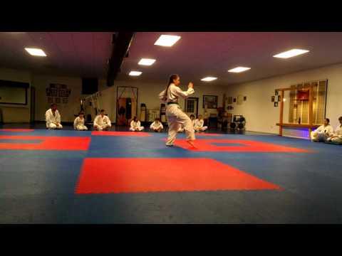 Virginia testing for Brown belt. Kata Rohi