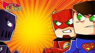 Minecraft: VILÃO VS HERÓIS !!! - Luta de Heróis ‹ Ine ›
