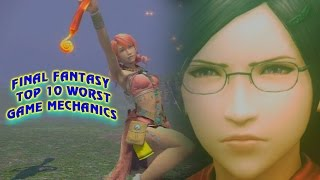 Final Fantasy Top 10 Worst Game Mechanics