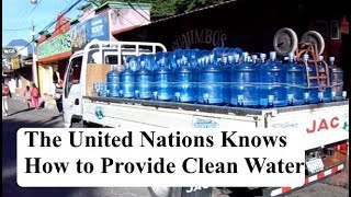 Clean Drinking Water, The United Nation Knows the Lie