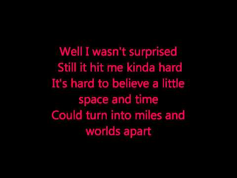 Blake Shelton- I Found Someone Lyrics
