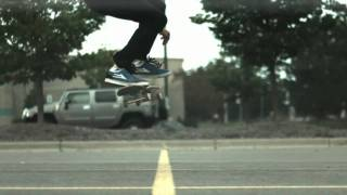Skateology: nollie kickflip (1000 fps slow motion)