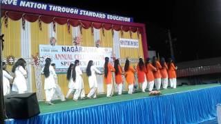 Satyamev jayate dance by nagarjuna model school 9thclass girls at 2017