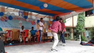 Manish Dance in DAV Barora