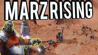 Zombie Martian Strategy Game - MarZ Rising