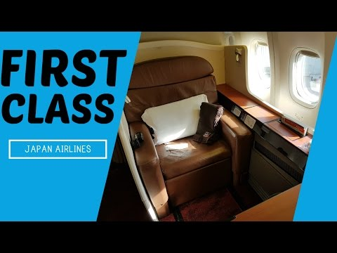 AMAZING Japan Airlines FIRST CLASS