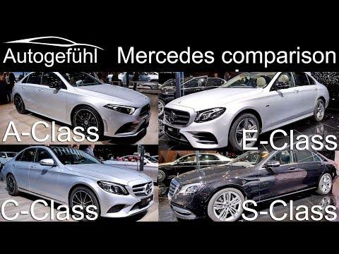 Xxx Mp4 Mercedes A Class Vs C Class Vs E Class Vs S Class Sedan Comparison Autogefühl 3gp Sex