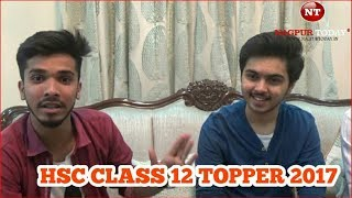 Maharashtra HSC Topper 2017 - Anand Javade interview with Farhan Kazi | Nagpur Today