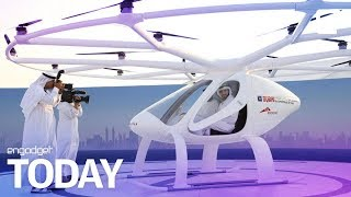 Dubai's flying drone taxi service is lifting off | Engadget Today