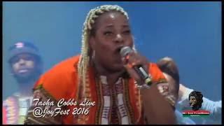 Tasha Cobbs Live @JoyFest 2016