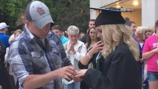 BEST SURPRISE! — Nursing Grad Surprised with New Car and Proposal