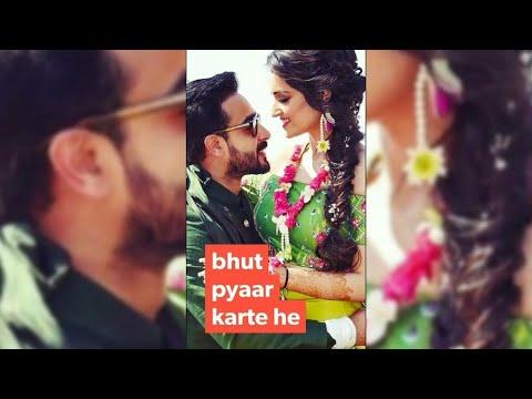Bahut Pyar Karte Hain Tumko Sanam Whatsapp Status | Romantic Sad Love Song |New WhatsApp Status 2018