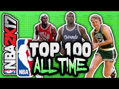 watch TOP 100 NBA PLAYERS OF ALL TIME! NBA 2K17 SQUAD BUILDER