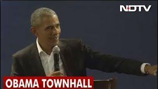 Watch Barack Obama's Townhall in Delhi