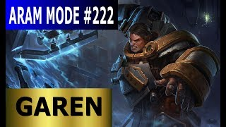 Garen - Aram Mode #222 - Full League of Legends Gameplay [German] Let's Play LoL