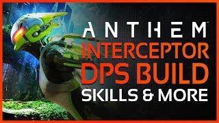ANTHEM: NEW Interceptor Gameplay - Glasscannon DPS Build, Skills & Exclusive Skins!